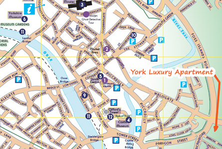 Find our York Accommodation